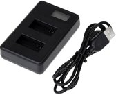 Captec Dual 4 LCD - GoPro Charger met display