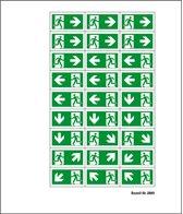 Mini symbolen vluchtwegaanduiding, 12 mm
