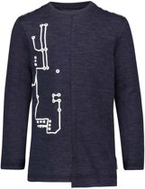 Noppies Jongens T-shirt Welton - Navy Melange - Maat 86