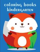 coloring books kindergarten: Christmas Book, Easy and Funny Animal Images