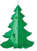 Hangdecoratie kerstboom 50 cm