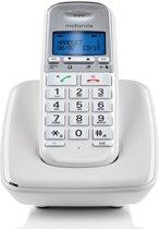 Motorola S3001 Uitgebreide Senioren Single Set - NL - DECT Telefoon - Wit