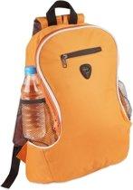 Voordelige backpack rugzak oranje