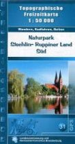 Naturpark Stechlin-Ruppiner Land Süd 1 : 50 000