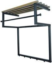 Spinder Design Rizzoli - Kapstok - Zwart/Eiken