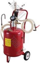 22 liter olie opzuigtank, zuigt olie uit motorcarter via peilstok
