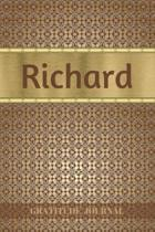 Richard Gratitude Journal: Personalized with Name and Prompted. 5 Minutes a Day Diary for Men