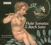 Flute Sonatas By The Bach-Sons