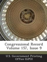 Congressional Record Volume 157, Issue 9