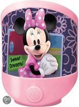 Disney magie Minnie Mouse - Nachtlampje - Batterij - Roze