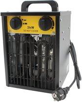 Werkplaatskachel heater voor de werkplaats, werkplek verwarming, schuur verwarming.