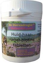 Dierendrogist Huid-Haar-Nagel-Biotine Tabletten - 100 stuks