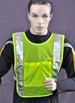 Safeways HiViz 6 LED reflecterend Veiligheidsvest EN1150