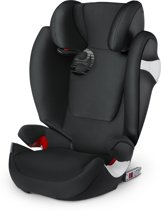 Cybex SOLUTION M-FIX Lavastone Black | black