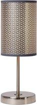 Lucide MODA - Tafellamp - Ø 13 cm - E27 - Grijs