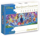 Clementoni High Quality Collection Panorama Disney Family Puzzel (1000 stukjes)