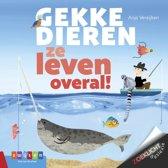 Boekomslag van 'Zoeklicht dyslexie - Gekke dieren, ze leven overal!'