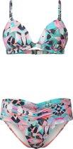 O'Neill Bikini Fiji  miami mix - White Aop W/ Green - 38c