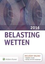 Omslag van 'Belastingwetten - 2016'