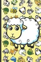 Sheep Animal Party Notebook