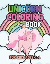 Unicorn Coloring Book for Kids Ages 2-4: Amazing Adorable Unicorns Rainbow Magical