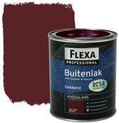 Flexa Professional Buitenlak Dekkend Wijnrood B6.30.12 750 Ml