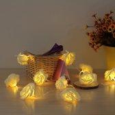 Lichtsnoer 20 rozen - Warm wit licht - 2 meter