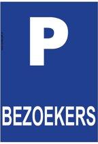Bordje - Parkeren - Bezoekers