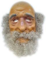 Abraham Masker plastic met haar