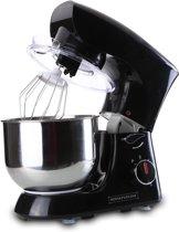 Royalty Line 1400W - Keukenmachine - zwart