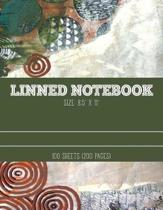 Lined Notebook 8.5 X 11 / 100 Sheets (200 Pages)
