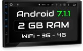 2 DIN Android 7.1.1Navigatie systeem