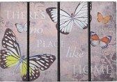 Schoonloopmat met print / Ecomaster Inspiration Butterfly 008 / 40 cm x 60 cm / Inspiration Butterfly 008