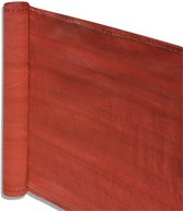 Balkonscherm - balkondoek - zonwering en privacy - 5 meter lengte - 90 cm hoogte - Terracotta