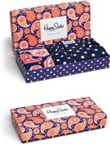 Happy Socks - Gift box Paisley heren Boxershort loose fit en Sokken maat 41-46 + S