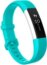 SVH Company Siliconen bandje - Fitbit Alta (HR) - Turquoise - Small