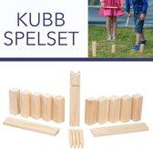 KUBB - Viking buitenspel - voor kinderen en volwassenen. Complete set van 21 stuks. Geweldig om te spelen in de tuin, in het park of op kampeertochten. Een spel voor zowel kinderen als volwassenen.