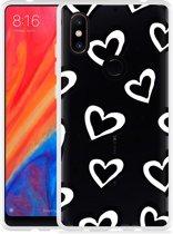Xiaomi Mi Mix 2S Hoesje Watercolor Hearts