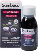 Sambucol Vlierbessen Siroop For Kids - 120 ml