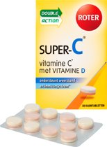 Roter Super-C Vitamine D - 30 Tabletten - Voedingssupplement
