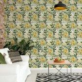 Fotobehang Vintage Floral Pattern   VEM - 104cm x 70.5cm   130gr/m2 Vlies