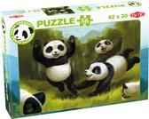 Panda Stars Puzzel Fun together - 56 stukjes
