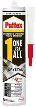 Pattex One for all - Crystal - Monteren en afdichten - Montagekit - 2 stuks