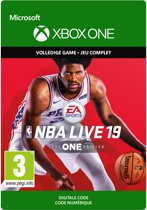 NBA LIVE 19: The One Edition - Xbox One