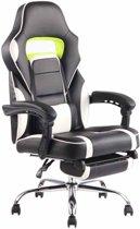 Clp Fuel - bureaustoel - kunstleer - zwart/wit