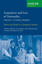 IMISCOE Research - Acquisition and Loss of Nationality 2 Country Analyses