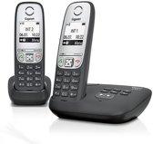 Gigaset A415A - Duo DECT telefoon met antwoordapparaat - Zwart