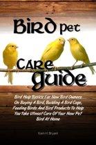 Bird Pet Care Guide