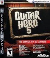 Guitar Hero 5 Standalone Game /PS3