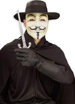 V for Vendetta-kit voor volwassenen - Verkleedattribuut - One size